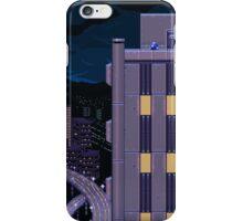 Mega Man Title Screen iPhone Case/Skin