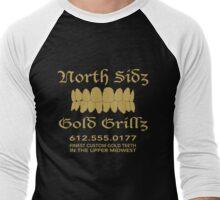 Gold Grillz Men's Baseball ¾ T-Shirt