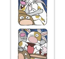 Awesome Bunnies Photobooth Series Sticker