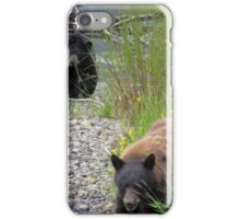 Steep Creek bear patrol iPhone Case/Skin