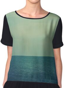Serenity on a Summer Evening Chiffon Top