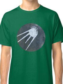 Sputnik - Russian Space Program Satellite Classic T-Shirt