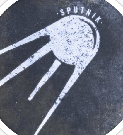 Sputnik - Russian Space Program Satellite Sticker