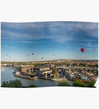 Balloons Over Bristol Poster