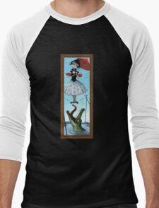 Tightrope Damsel Men's Baseball ¾ T-Shirt
