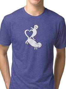 Heart Kittens Tri-blend T-Shirt