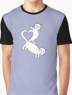 Heart Kittens Graphic T-Shirt
