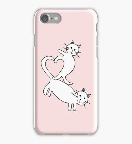 Heart Kittens iPhone Case/Skin