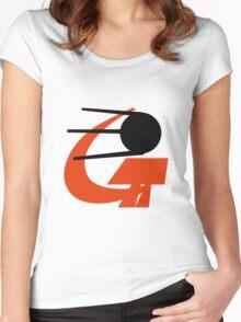 Soviet Satellite - Sputnik Women's Fitted Scoop T-Shirt