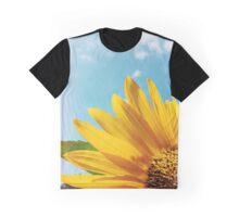 Summer Sunflower Graphic T-Shirt