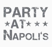 Party At Napolis Cleveland Indians One Piece - Short Sleeve