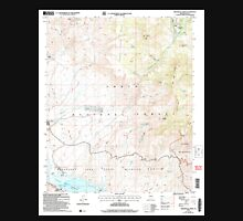 USGS TOPO Map Arizona AZ Greenback Creek 311578 2004 24000 Unisex T-Shirt