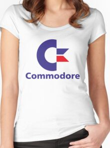 Commodore Women's Fitted Scoop T-Shirt