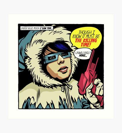 Post-Punk Ice Art Print