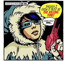 Post-Punk Ice Photographic Print