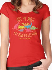 Dino Collection Women's Fitted Scoop T-Shirt
