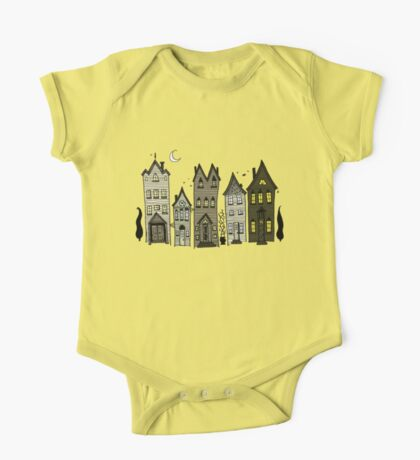 Haunted Houses One Piece - Short Sleeve