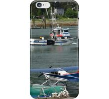 Fishing and Flying in Southeast Alaska iPhone Case/Skin