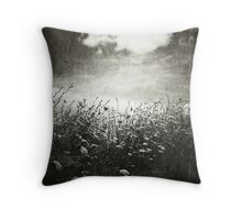 Counting Flowers Like They Were Stars Throw Pillow