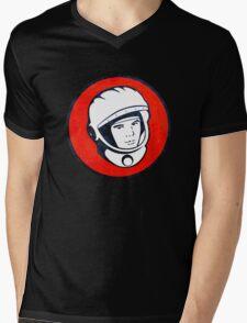 Cosmonaut Yuri Gagarin  Mens V-Neck T-Shirt