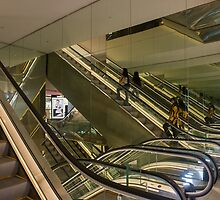 Escalators by Werner Padarin