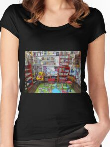 The Children's Play Corner Women's Fitted Scoop T-Shirt