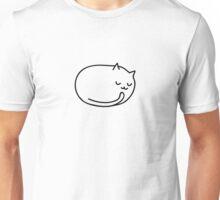 SLEEPING CAT Unisex T-Shirt