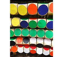 Colourful Circles Photographic Print