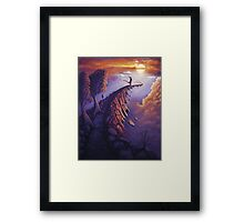 Path of Life Framed Print
