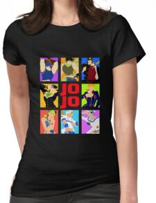 JoJo's Bizarre Womens Fitted T-Shirt