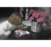 Spoils of the Egg Hunt Photographic Print