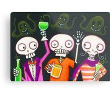 Halloween Happy Hour Metal Print