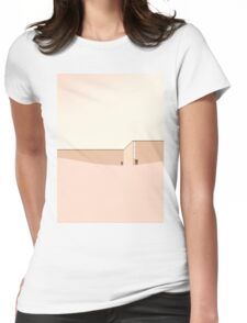 Minimalist architecture - S01 Womens Fitted T-Shirt