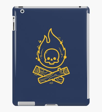 Camp or Die iPad Case/Skin