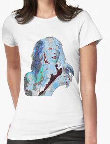 Astro Girl Zones On Womens Fitted T-Shirt