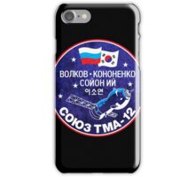 Soyuz TMA 12 - ISS Expedition 17 - Russian Korean Space Flight iPhone Case/Skin