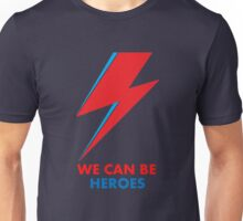 "David Bowie ""Heroes"" original design Unisex T-Shirt"