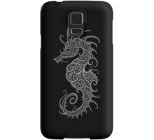 Intricate Dark Tribal Seahorse Design  Samsung Galaxy Case/Skin