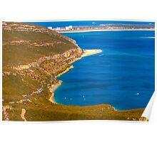 Arrábida coast. Serra da Arrábida. Poster