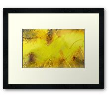 Abstract claws Framed Print