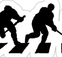 smart crossing (hockey road) Sticker