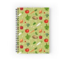 VEGGIE POWER Spiral Notebook