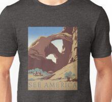 See America Works Progress Administration (WPA) Travel Poster Unisex T-Shirt