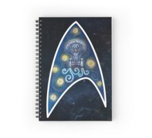 Star Trek Van Gogh  Spiral Notebook