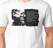 Charles BUKOWSKI - faith quote Unisex T-Shirt