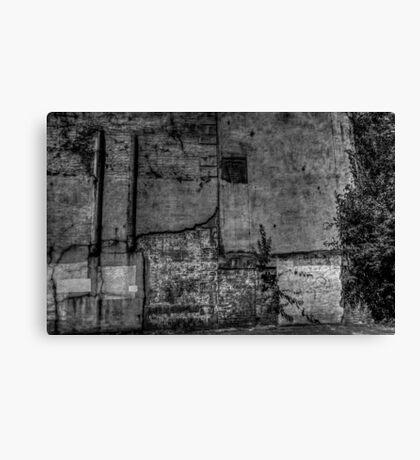 Urban Wall Canvas Print
