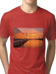 BBC Scotland after the sunset Tri-blend T-Shirt
