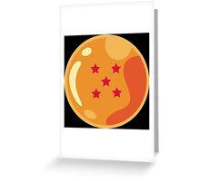 5 Stars Greeting Card