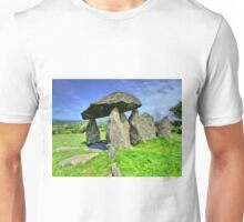 Ancient Burial Chamber in Mid - North Wales (UK) Unisex T-Shirt