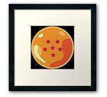 6 Stars Framed Print
